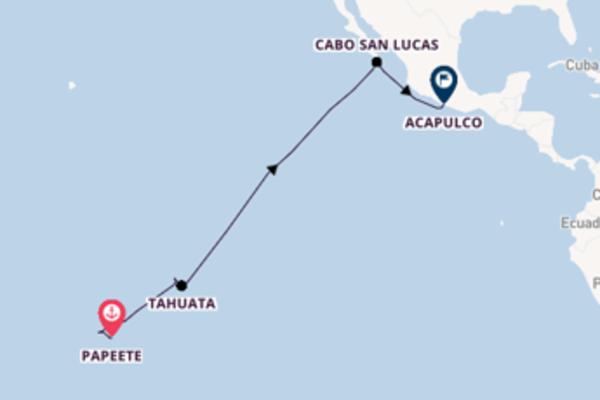 Vaar langs het fascinerende Moorea, Frans Polynesië