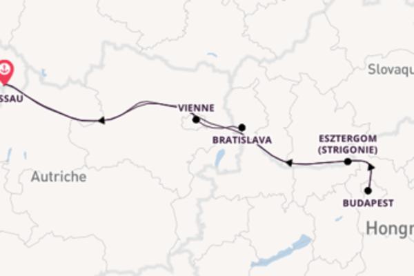 Et une joyeuse croisière depuis Passau, Allemagne