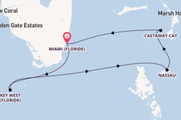 Douce croisière avec Disney Cruise Line pendant 6 jours