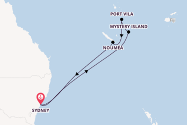 Trip from Sydney with the Ovation of the Seas