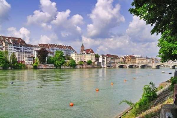 Cruise with the Viking Hild to Basel from Trier