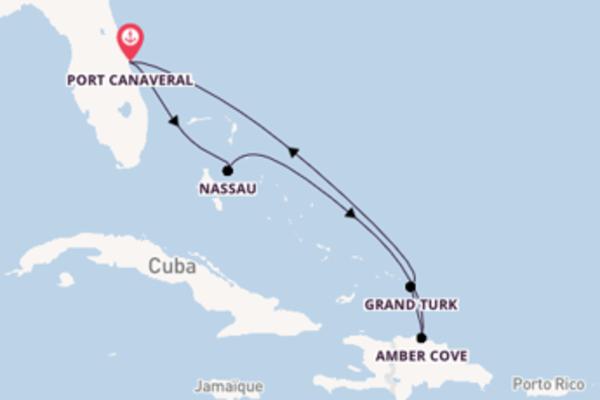 Croisière de 7 jours vers Port Canaveral avec Carnival Cruise Lines