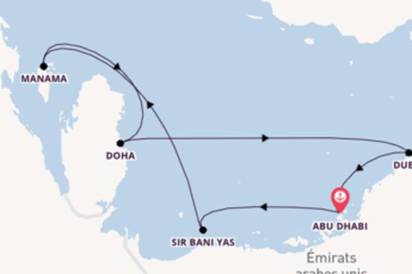 Douce balade de 8 jours au départ de Abu Dhabi