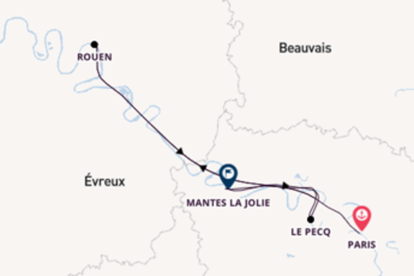 Journey with A-ROSA Cruises from Paris to Le Pecq