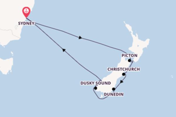 Croisière de 11 jours vers Sydney avec Royal Caribbean