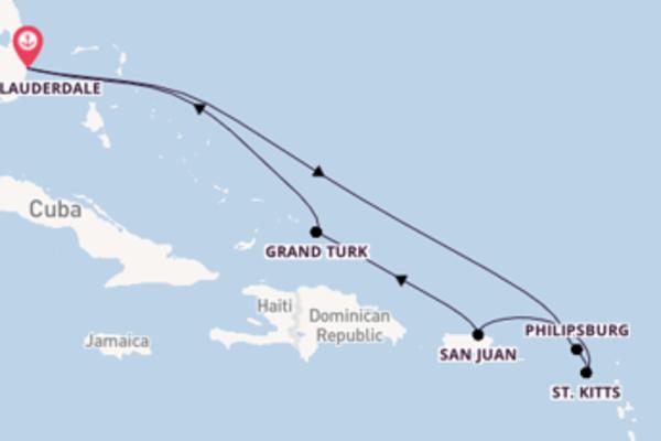 Lasciati incantare da St. Kitts e Fort Lauderdale