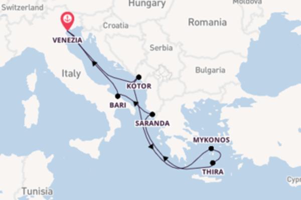 A bordo di MSC Sinfonia fino a Venezia