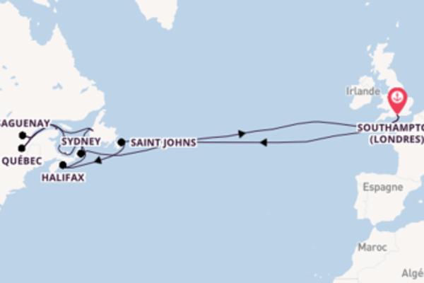 Ressentez à bord du bateau Arcadia , la destination: Sydney