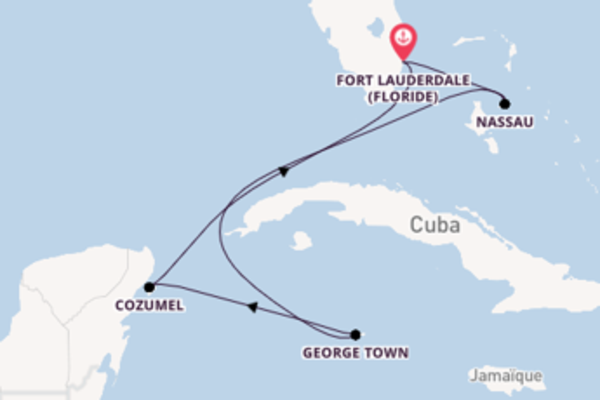 Charmante virée de 7 jours depuis Fort Lauderdale (Floride)