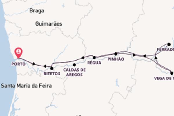 In 7 Tagen nach Porto über Régua