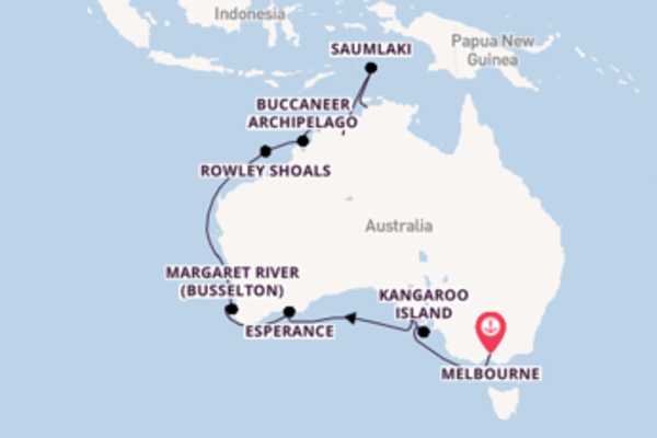 Cruise with Silversea from Melbourne