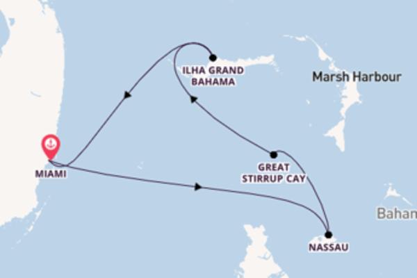 Fascinante passeio de 5 dias a bordo do Norwegian Sky