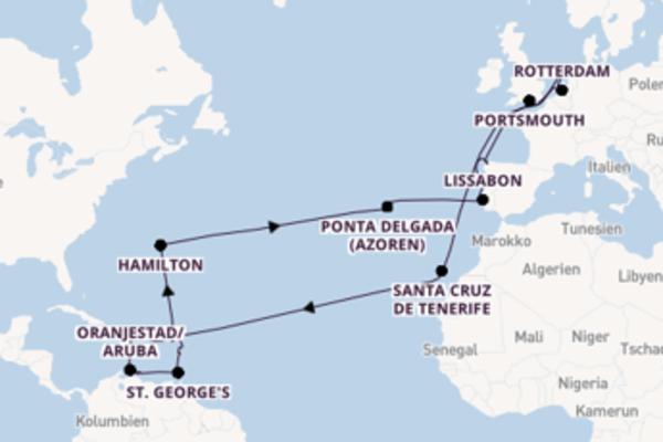 44 Tage Karibik Kreuzfahrt