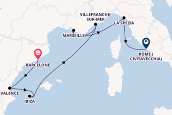 Belle croisière de 8 jours avec Celebrity Cruises