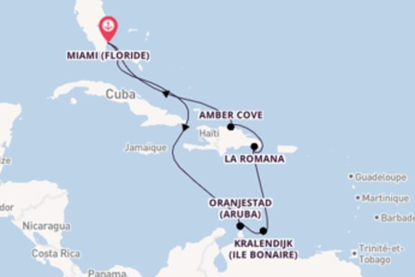 Charmante balade à bord du bateau Carnival Horizon