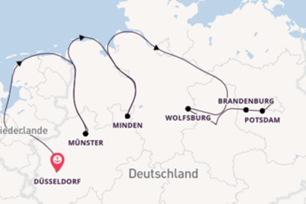 8 Tage Elbe-Kreuzfahrt