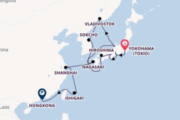 Ontdek het indrukwekkende Japan, Zuid-Korea en China