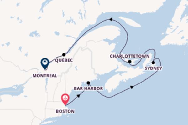 Cruise met Holland America Line naar het stralende Montreal