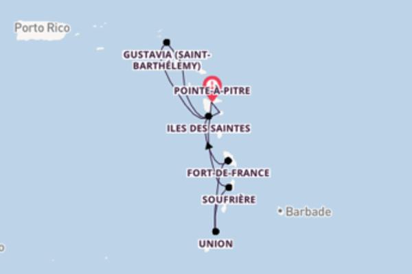 9 jours pour découvrir les Antilles et les Caraïbes