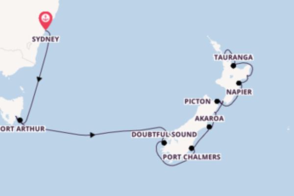 Erkunden Sie 17 Tage Doubtful Sound und Auckland