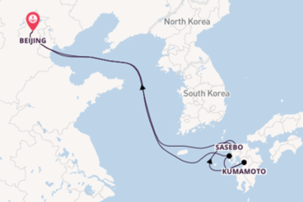 Breath-taking voyage from Beijing with Royal Caribbean