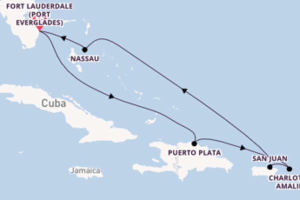 Wonderful trip from Fort Lauderdale (Port Everglades) with Celebrity Cruises