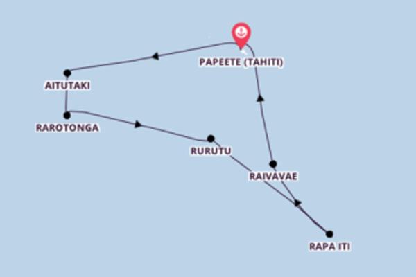 Spannende Kreuzfahrt mit der Aranui 5