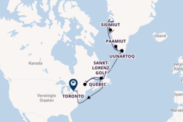 Expedition Sankt-Lorenz-Strom, Neufundland und Grönland – Im Reich der First Nations und Inuit