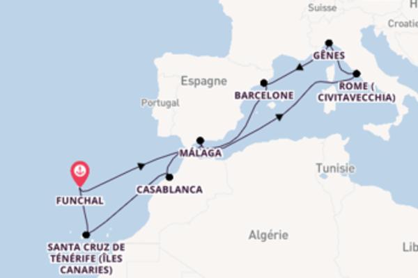 Passionante croisière de 12 jours avec MSC Croisières