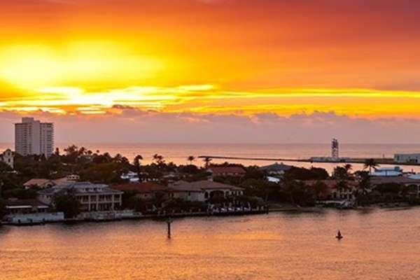 Admirez à bord du bateau Nieuw Amsterdam, la destination: Key West (Floride)