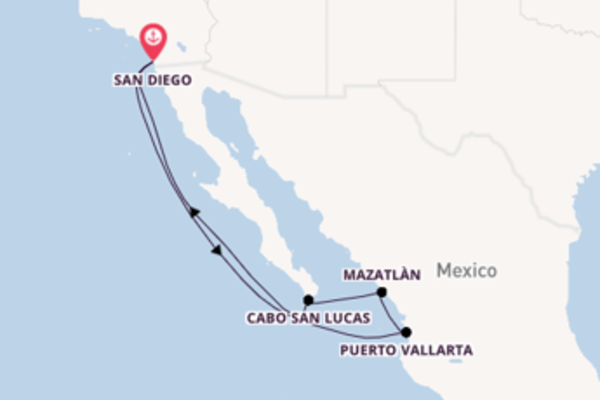 Delightful journey from San Diego with Holland America Line