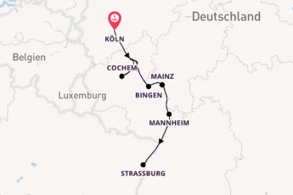 Fantastische Reise mit der Rhein Symphonie