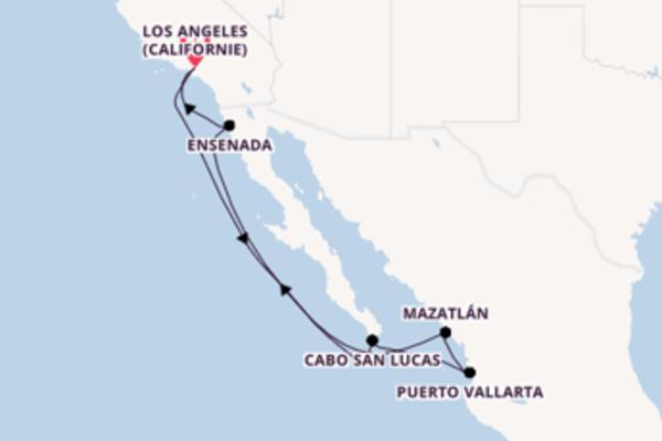 Croisière de 8 jours vers Los Angeles (Californie) avec Norwegian Cruise Line