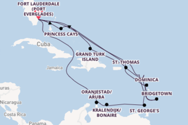 Cruise with Princess Cruises from Fort Lauderdale (Port Everglades)