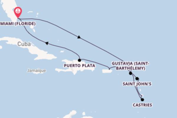 Étonnante balade de 11 jours à bord du bateau Riviera