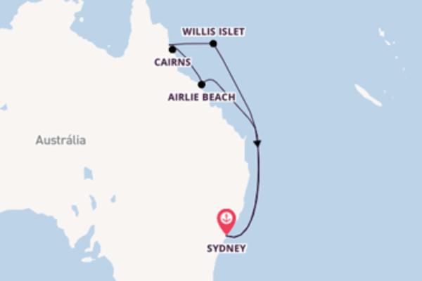 Admirável viagem até Sydney