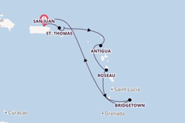 Spumeggiante viaggio di 8 giorni a bordo di Carnival Fascination