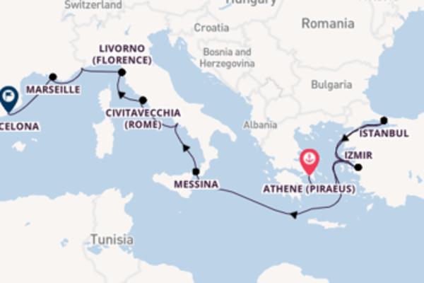 Cruise met Oceania Cruises naar het prachtige Barcelona