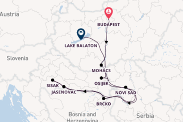 11 day voyage to Lake Balaton from Budapest