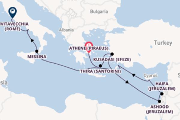 Cruise met Norwegian Cruise Line naar Haifa (Jeruzalem)