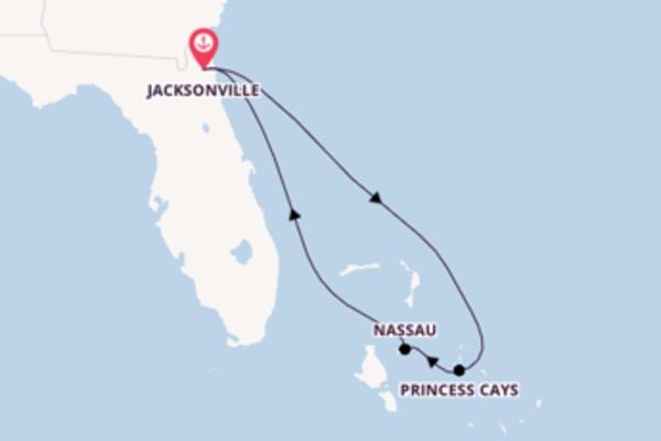 Geniet van het sensationele Princess Cays met Carnival Cruise Line