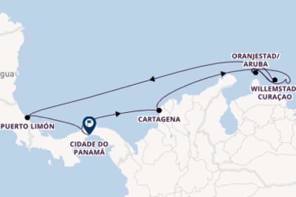 Emocionante cruzeiro de 10 dias a bordo do Norwegian Sky