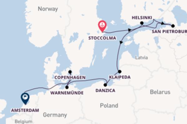 11 giorni di crociera da Stoccolma