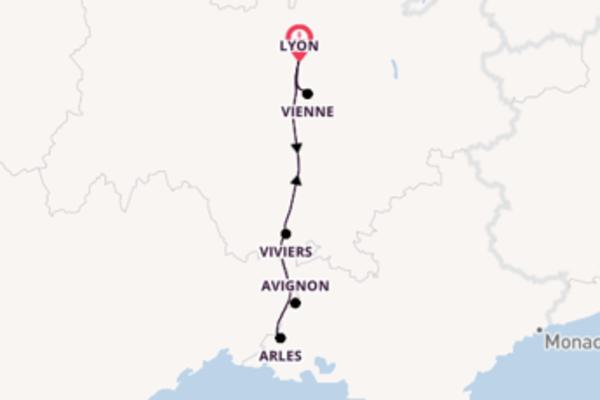 Entdecken Sie Viviers ab Lyon