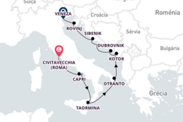 Magnífica viagem de 12 dias a bordo do SeaDream I