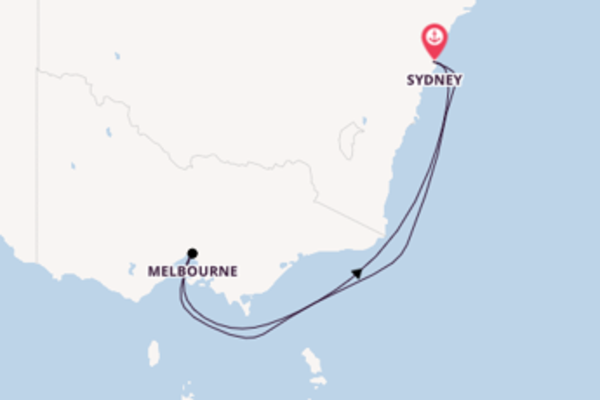 6 day journey from Sydney