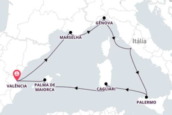 8 dias navegando a bordo do MSC Fantasia