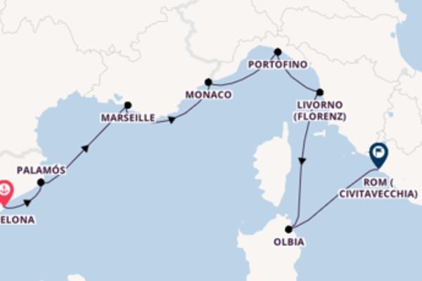 Barcelona und Marseille genießen