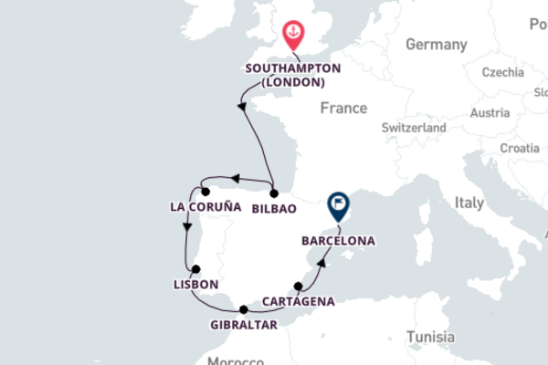 Sensational La Coruña with Celebrity Cruises