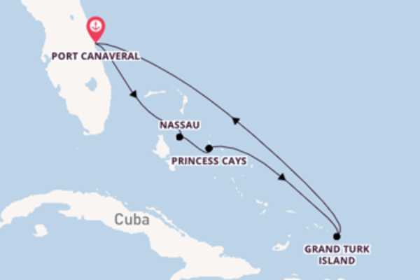 Expedition with Carnival Cruise Lines from Port Canaveral